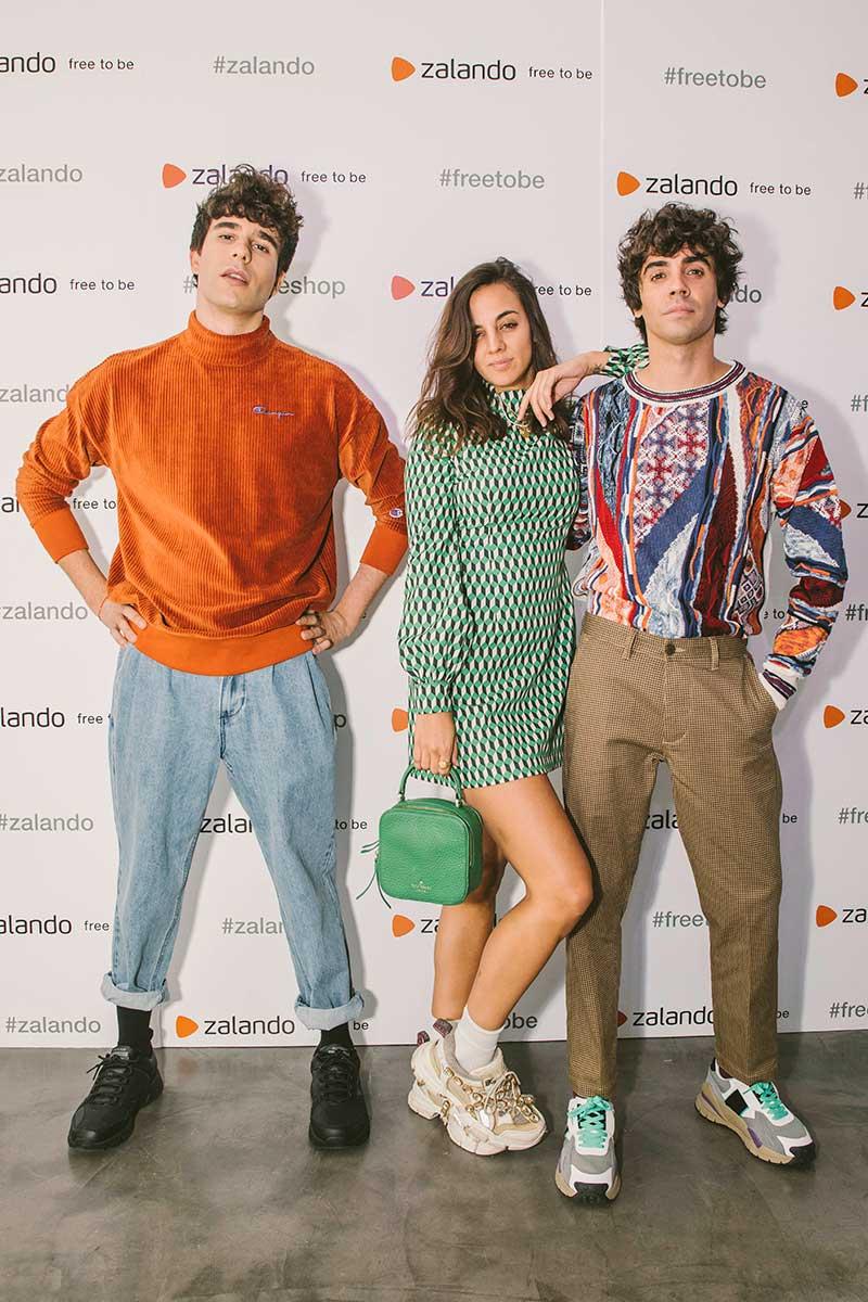 Los Javis en la primera pop up de Zalando en España