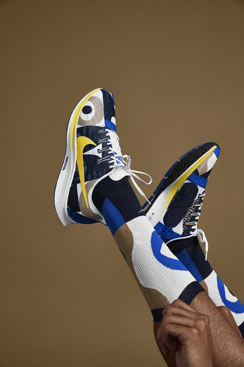 La colección de running más gráfica x Nike & Cody Hudson