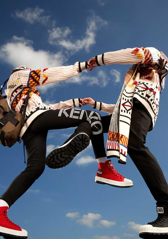 Palladium x Kenzo, las botas army más modernas