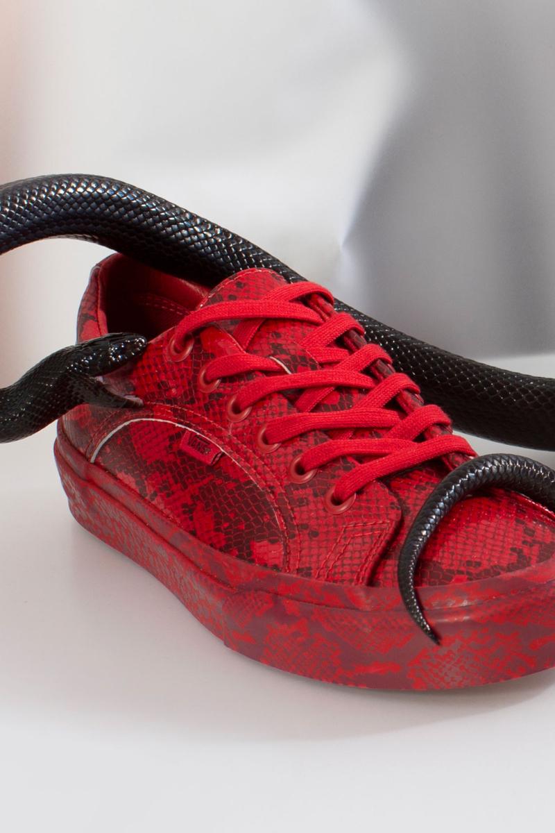 Las zapatillas viperinas de Vans x Opening Ceremony FW19