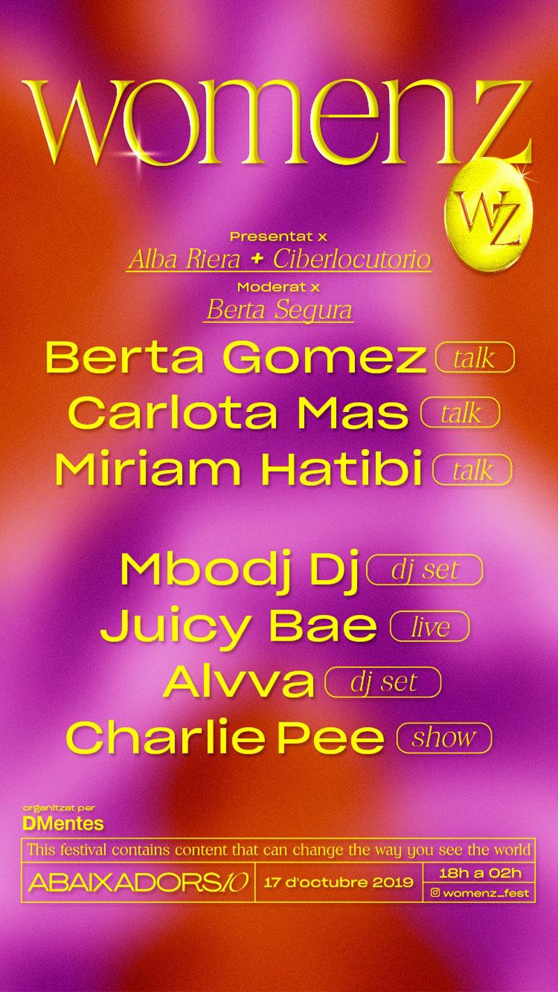 WomenZ: el festival de mujeres con talento de Barcelona