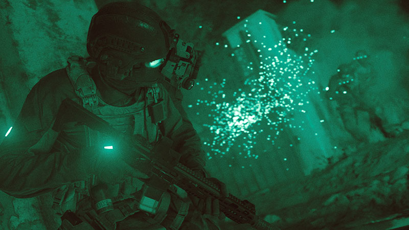 Najwa Nimri en Call of Duty Modern Warfare