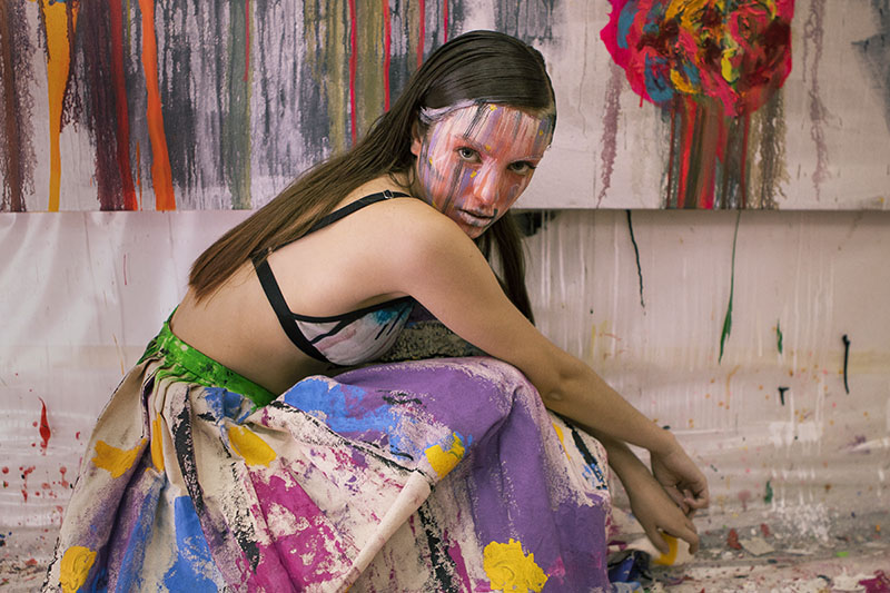 La moda 'arty' de Arena Martinez