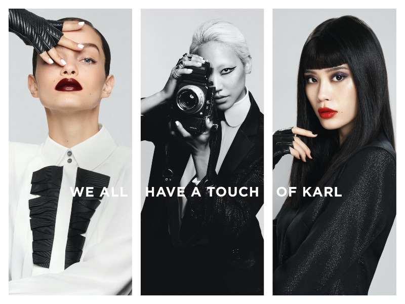 Karl Lagerfeld x L'Oréal Paris: Una colección 100% Karl