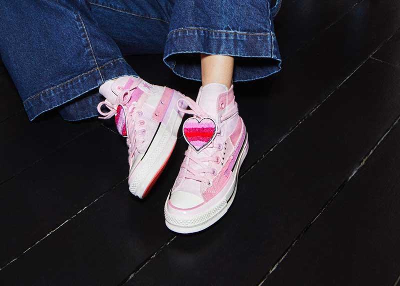 Millie Bobby Brown y sus nuevas zapas Converse