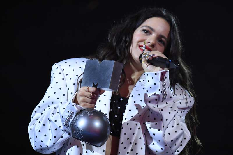 Las joyas de Rosalia en los MTV Awards 2019