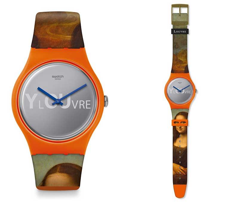 Swatch x Louvre: De reloj a obra de arte inédita