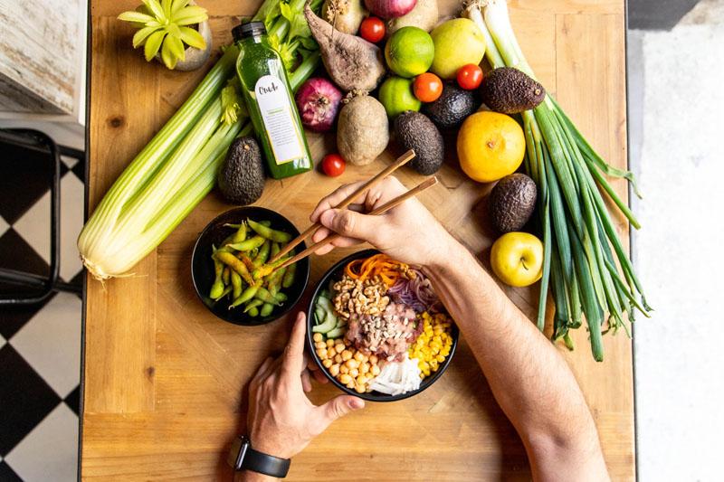 Crudo: Comida saludable y sabrosa en Madrid
