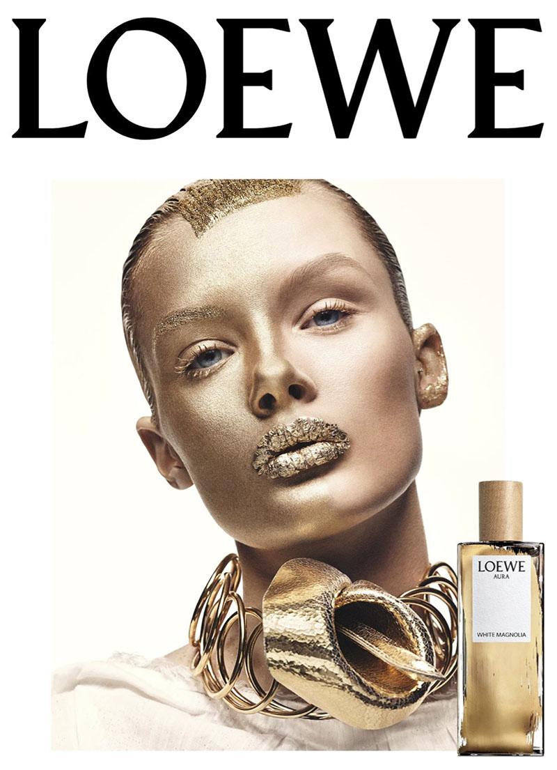 La musa de Loewe Aura White Magnolia