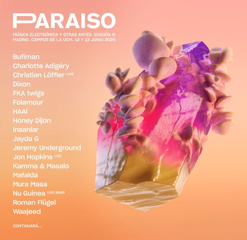 FKA Twigs en Paraíso 2020