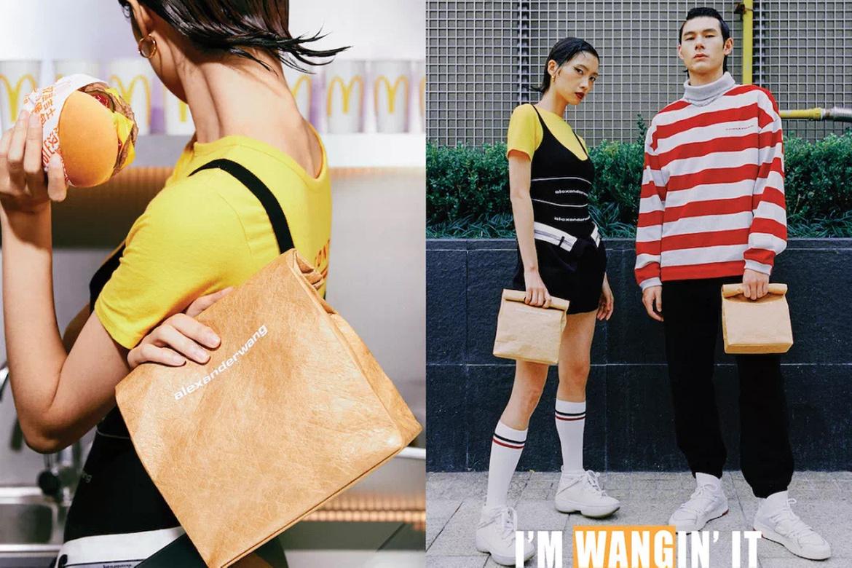 Alexander Wang sabe como guardar con estilo un Big Mac