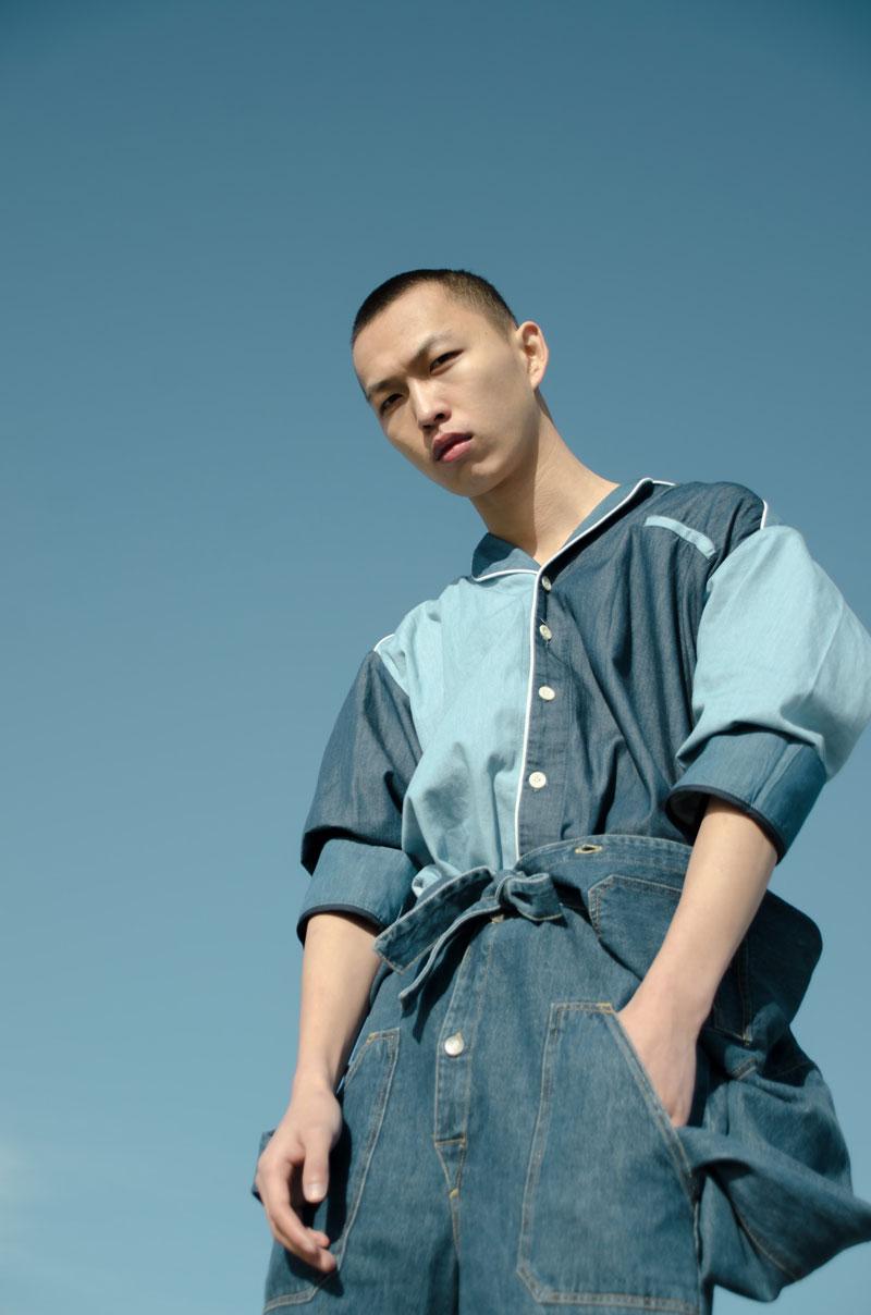 Huanxin, editorial de moda por Simone Siel