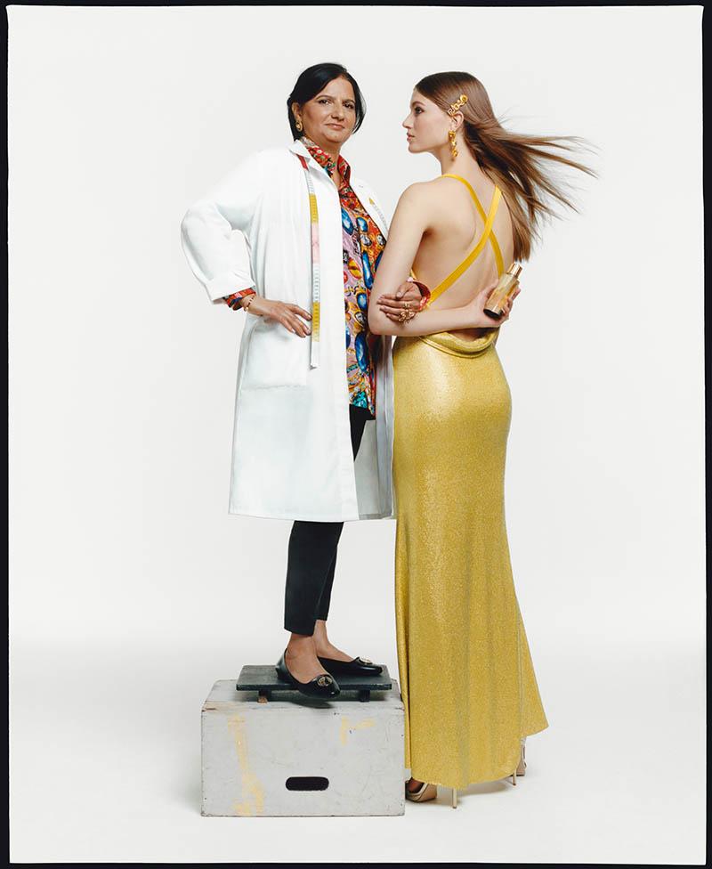 Atelier Versace y su perfume de Alta Costura