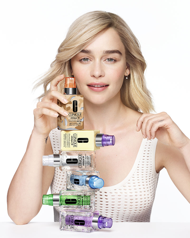 Clinique ID con Emilia Clarke