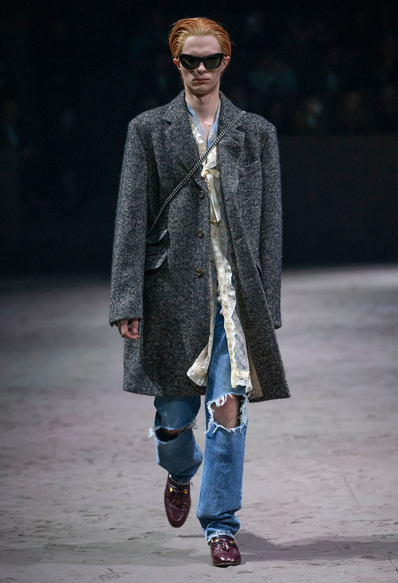 La vuelta al cole de Gucci Fall 2020 Menswear