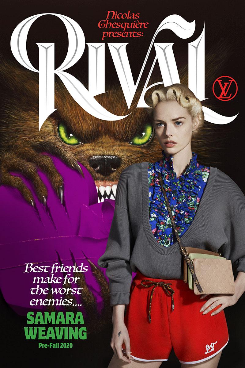 La campaña más cultureta de Louis Vuitton Pre-Fall 2020
