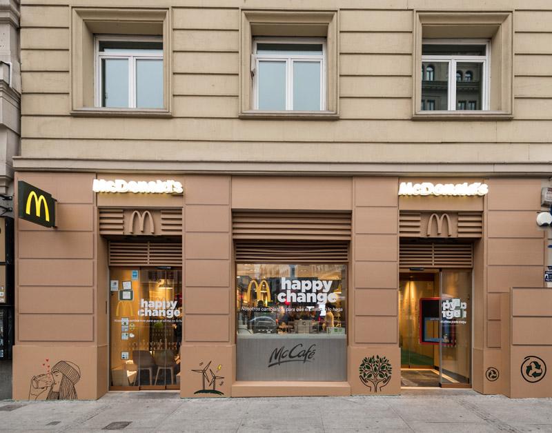 McDonald's y su última pajita de plástico con Happy Change