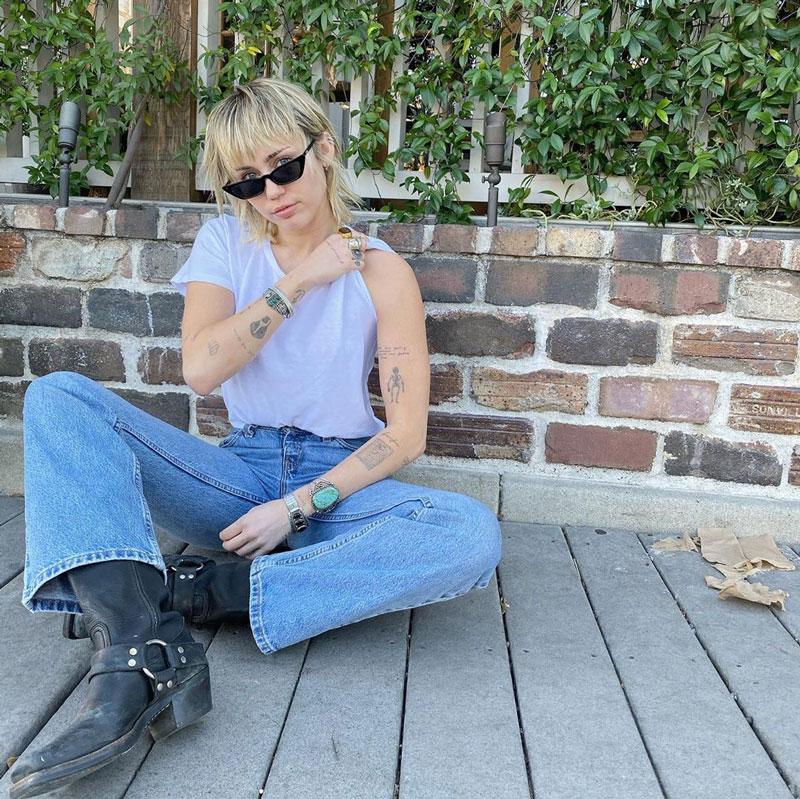 Miley Cyrus y su nuevo corte de pelo Mullet