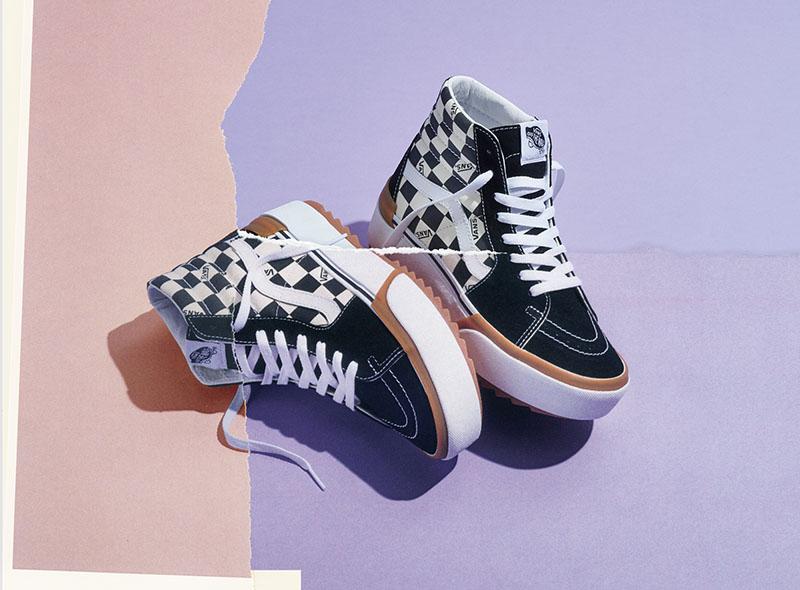 cáscara Medalla carpintero  Las nuevas zapatillas de Vans con plataforma que te van a volver loco