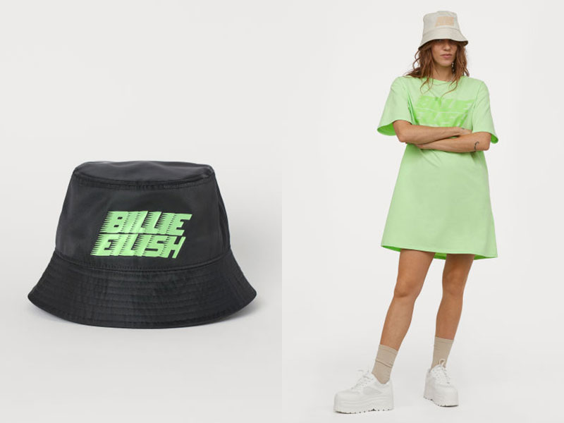 Billie Eilish x H&M para fans con conciencia
