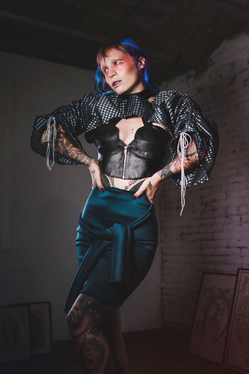 Fetichismo y Moda por Marta Gómez y Beatrix Arias
