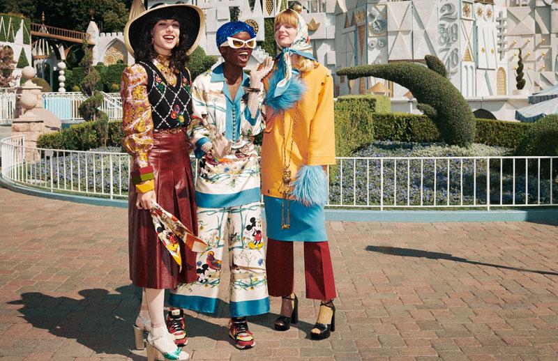 Gucci celebra con Mickey Mouse el Año Nuevo Chino