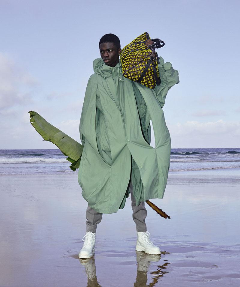 África en la publicidad de Louis Vuitton SS20 Hombre