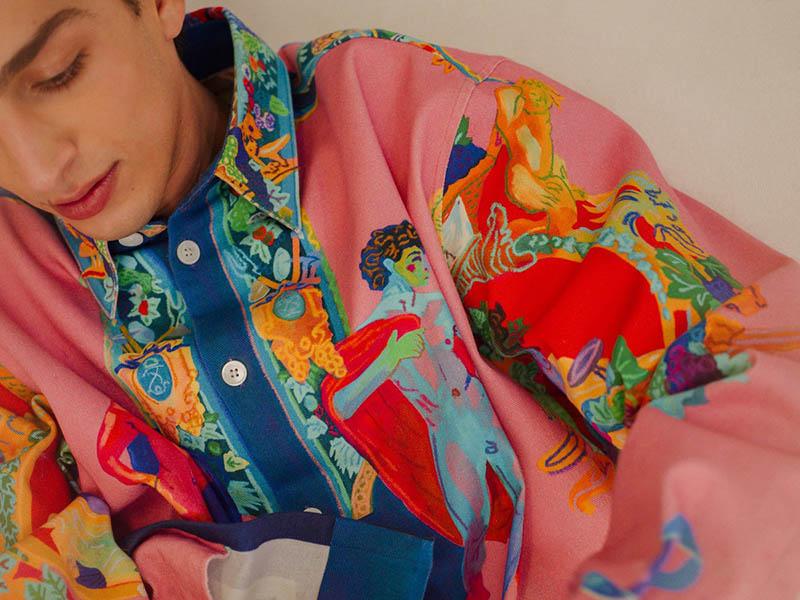 Lo nuevo de Versace x Andy Dixon