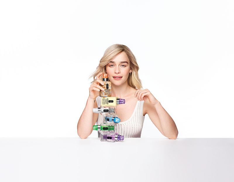 Clinique ID con Emilia Clarke