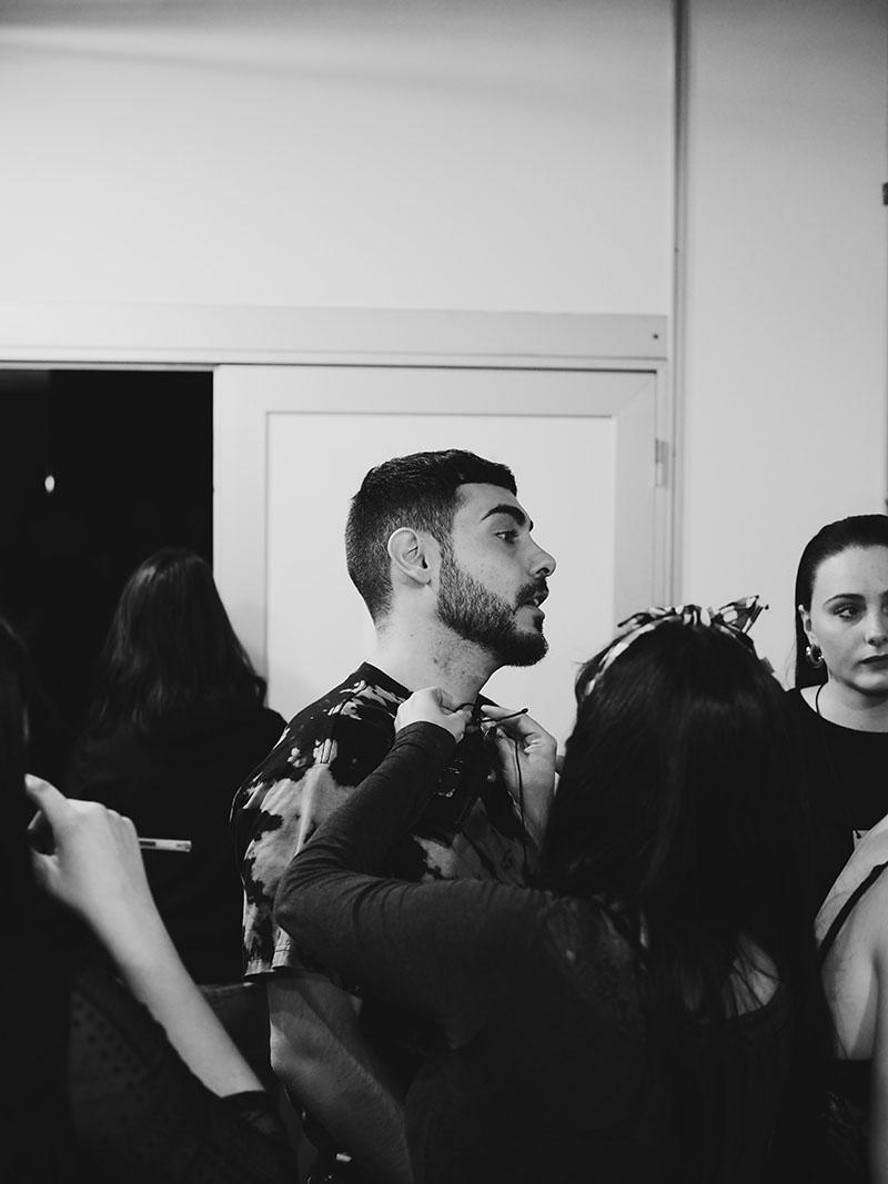 Nos colamos en el Backstage de Dominnico FW20-21