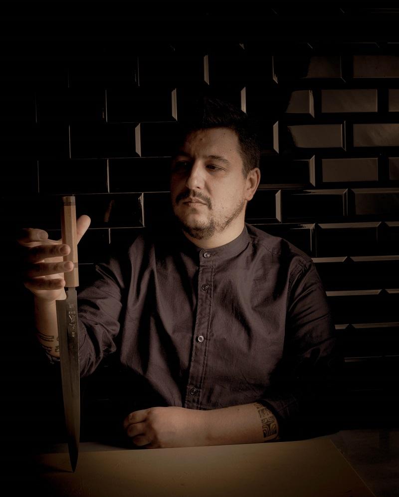 Neo2 con Mario Payán del restaurante Kappo en Mercamadrid