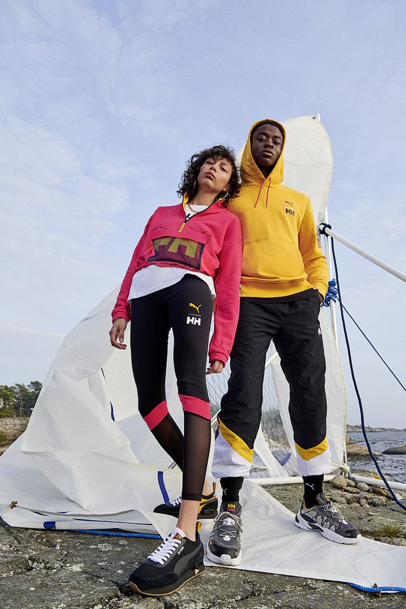 El streetwear técnico de Puma x Helly Hansen