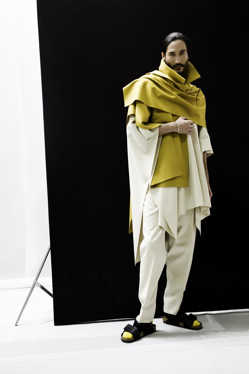 Editorial de moda inspiración japonesa