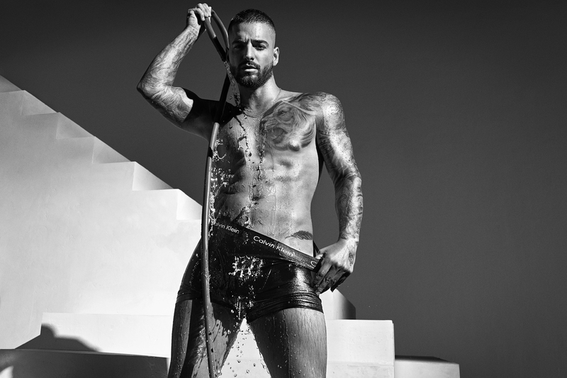 Maluma desnudo en lo nuevo de Calvin Klein