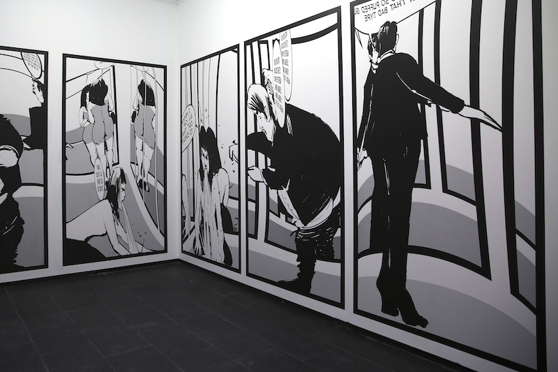 'Panal' de Francesc Ruiz en Móstoles, CA2M
