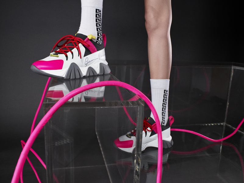 Las nuevas Versace Sneakers: The Squalo