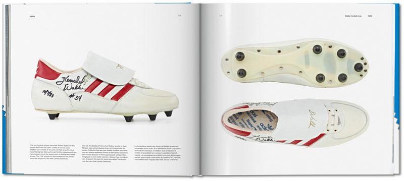 adidas y sus archivos de zapatillas en un libro
