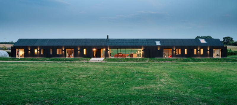 El granero contemporáneo del estudio de arquitectura AMPS