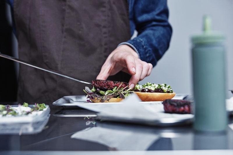 Hamburguesas sintéticas y vegetarianas: La carne No-carne
