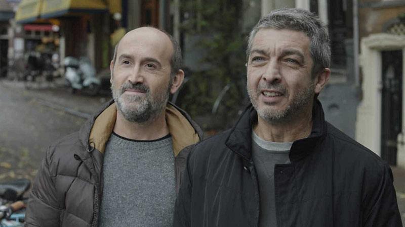 Javier Cámara y Gustavo Salmerón en #NuestroCineNosUne