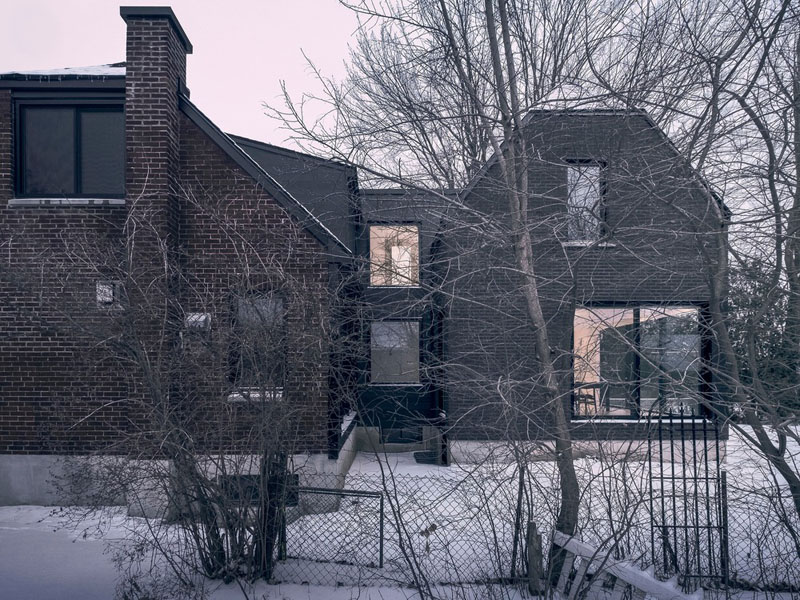 Casas Gemelas en Montreal por Appareil Architecture