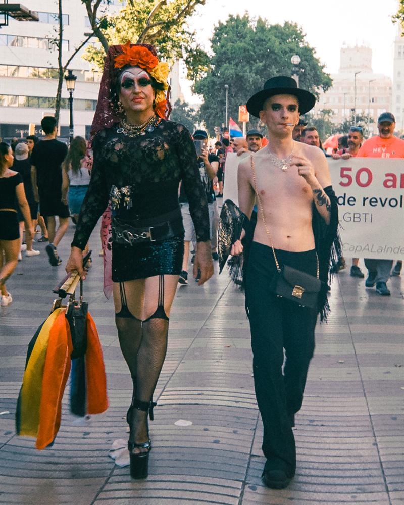 Isaac Flores fotografía el underground queer de Barcelona