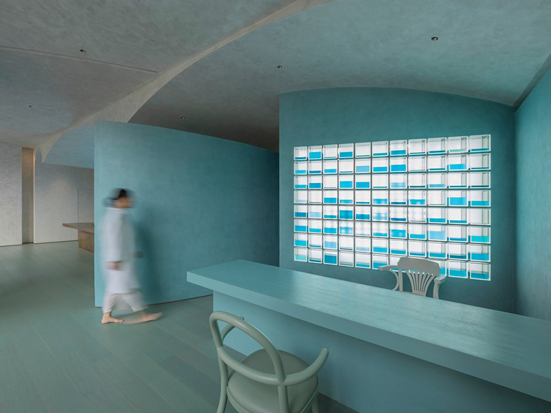Espacio futurista: Aqua Health Clinic de Waterfrom Design