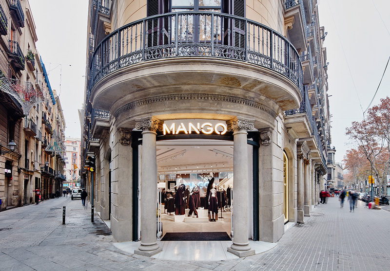 Mango abre sus tiendas: 135 por ahora