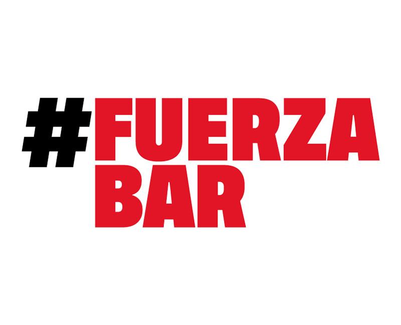 Únete al movimiento #FuerzaBar