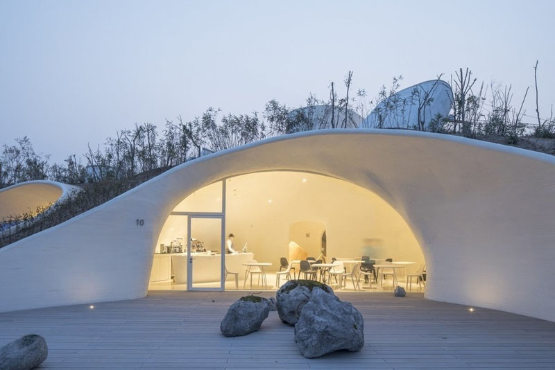 Ucca Dune: museo frente al mar de Open Architecture