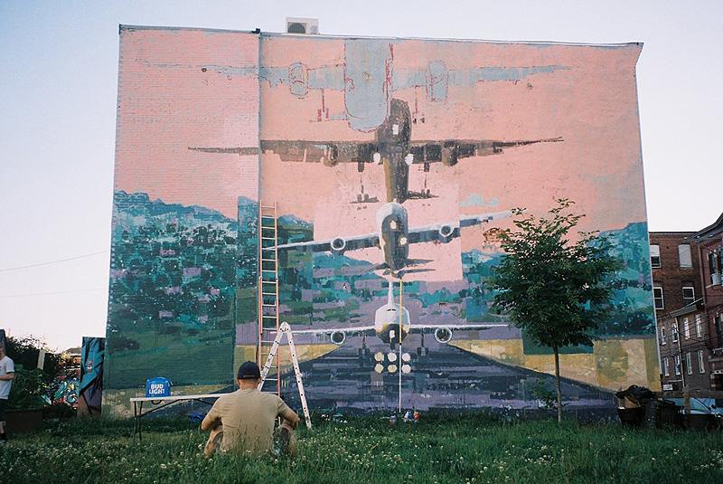 Avant Garde Tudela. Muestra de Muralismo Contemporáneo