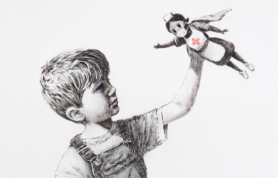 Banksyy el Covid-19