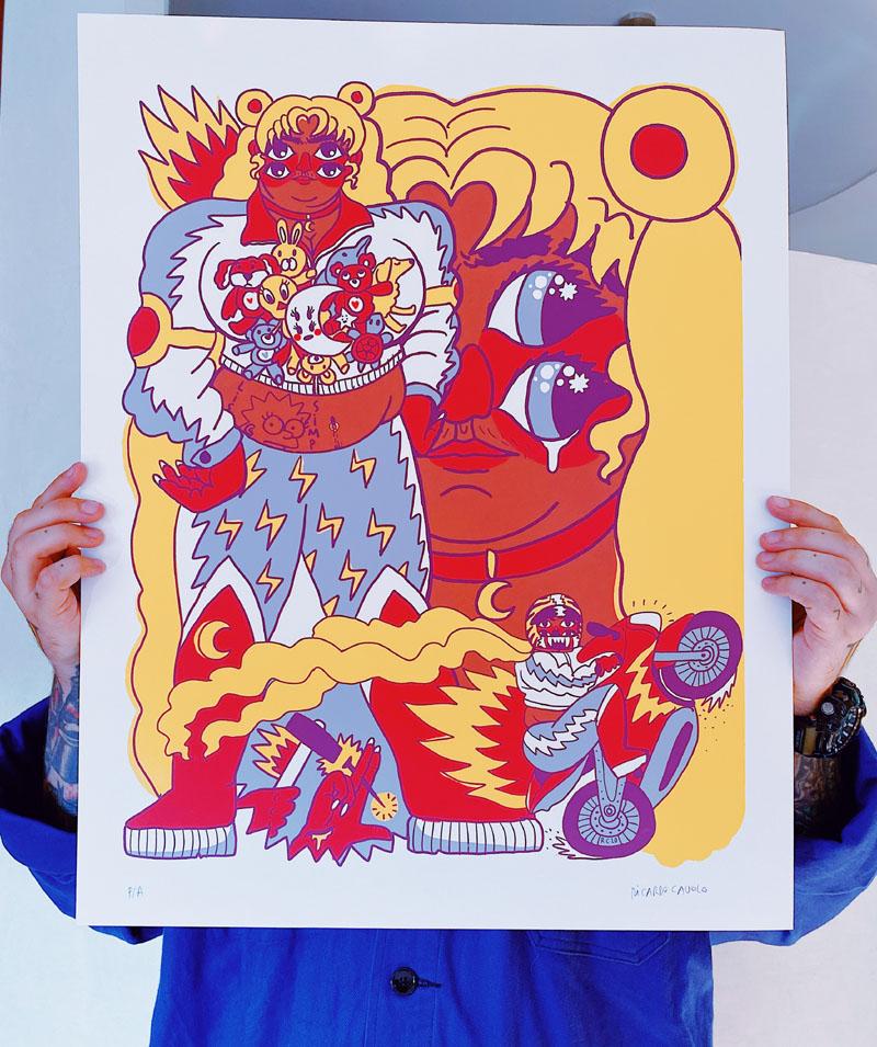 Chonga Moon: Ricardo Cavolo reinterpreta a Sailor Moon