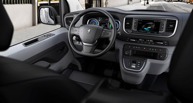 Peugeot e-Expert 2020: El furgón ecológico 100% electrico
